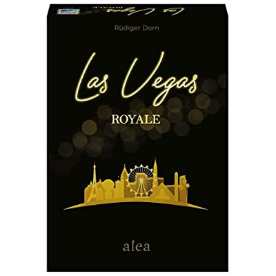 Ravensburger Las Vegas Royale Strategy Board Game for Ages 8 & Up - 20th Anniversary Edition Alea: Toys & Games