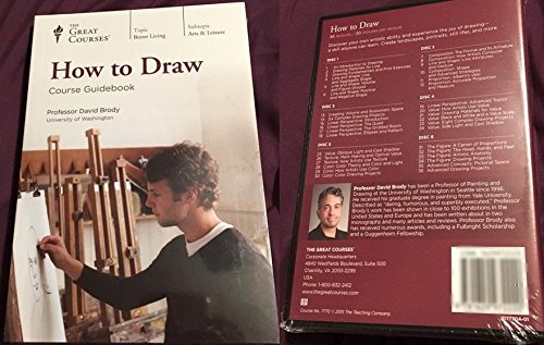 How To Draw - The Great Courses - Guide Book & 6 Disc SET