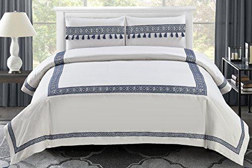 Wonder Home 3 Pieces Lexington Hotel Inspired Cotton Comforter Size Set, King, - Lexington Macys