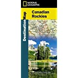 National Geographic Canadian Rockies Map: Destination Map