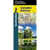 Canadian Rockies Destination Map 1:710,000