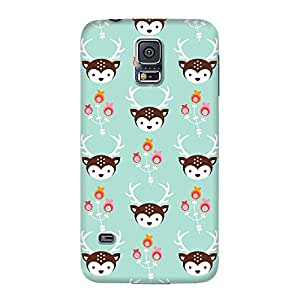 DailyObjects Blossom Deer Case For Samsung Galaxy S5