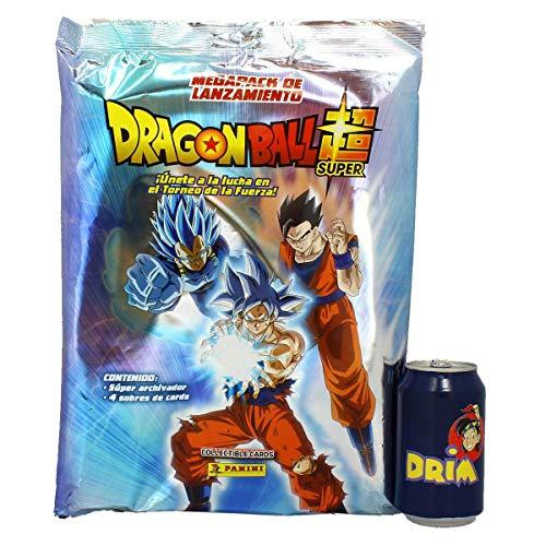 Panini- 003756SPE2 Megapack Archivador Dragon Ball Super, 4 Sobres