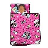 Disney Minnie Mouse Pink & Aqua Toddler Nap Mat, Pink, Aqua, Yellow,