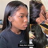 Sdamey 4X4 Lace Closure Wigs Silky Brazilian Virgin