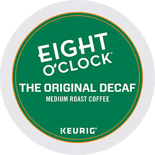 Eight O'Clock Coffee Original Decaf K-Cups – 48 Count (2 boxes of 24 K-Cups Each) – Packaging May Vary
