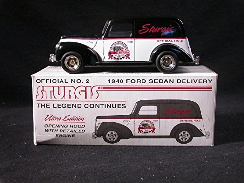 Sturges 1940 Ford Sedan Delivery 1/25 Die-Cast Coin Bank Liberty Classics Spec-Cast