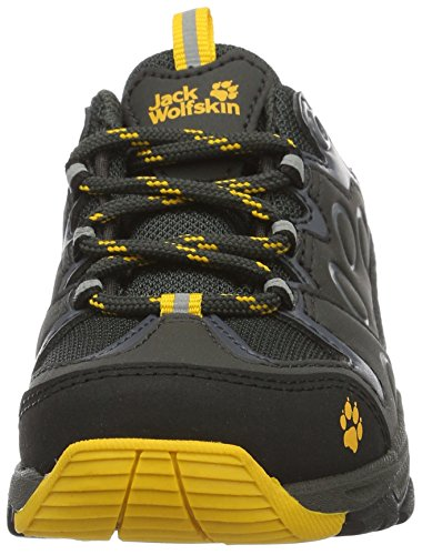 Pictures of Jack Wolfskin Unisex MTN Attack 2 Texapore Low K Hiking Boot, Burly Yellow, 5 M US Big Kid 5