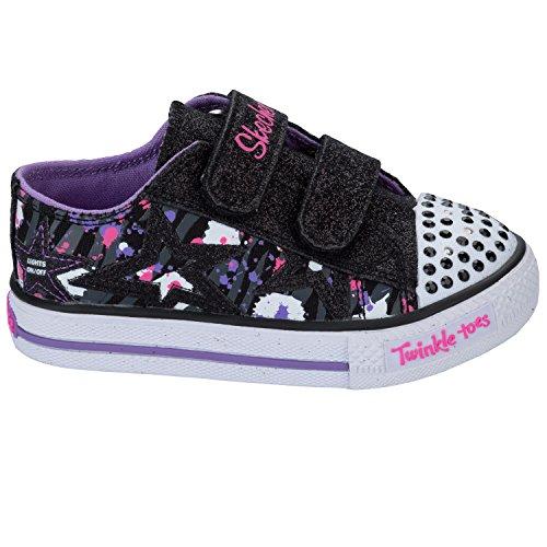 Skechers , Baskets mode pour fille noir noir