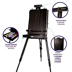 Mont Marte French Box Easels Black