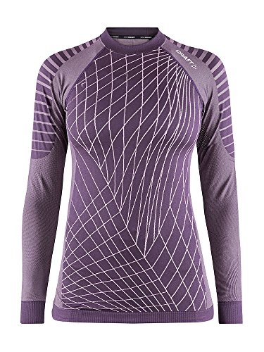 Craft Sportswear Women's Active Intensity Running and Training Fitness Workout Outdoor Sport Base Layer Long Sleeve Shirt, Tulane, Large