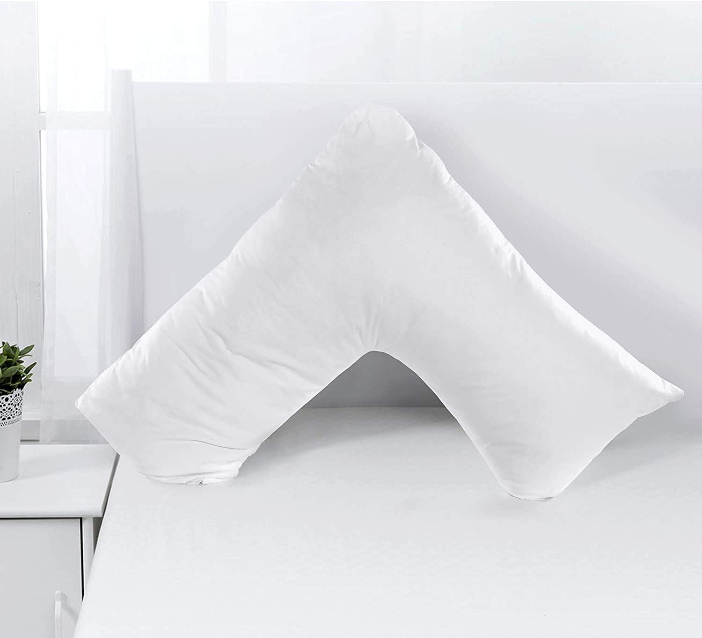 V Shape Pillow Extra Support Sleeping
