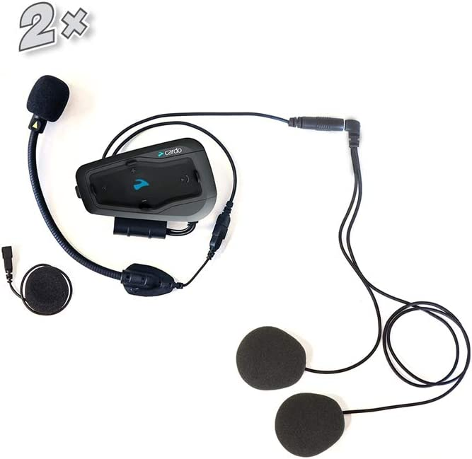 Duo Bluetooth Moto 2 Voies Intercom Interphone Cardo Freecom 2