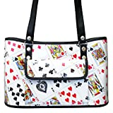 Handbag made of playing cards - FREE SHIPPING, beautiful special fun chic nice stunning present presents interesting cute finds handbags bag for magicians las vegas poker bridge player veganish casino