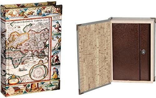 Mr Libro Caja Fuerte Mapa Mundi Blanco: Amazon.es: Bebé