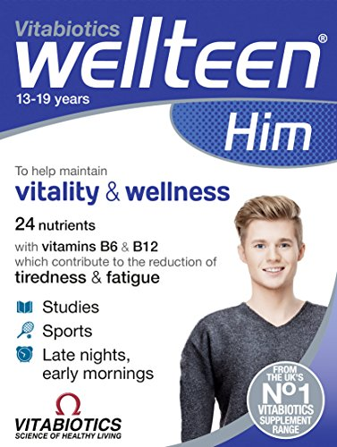 Vitabiotics Wellteen Him Original – 30 Tablets