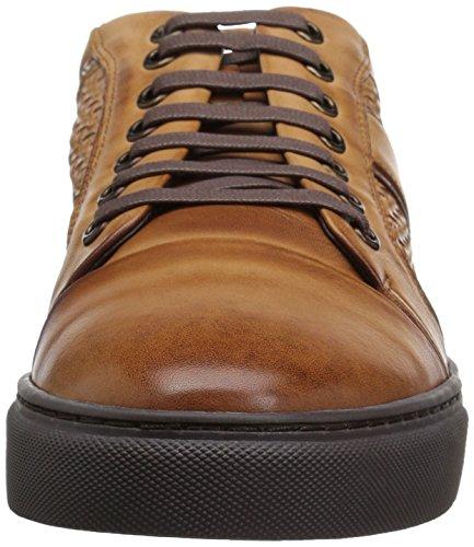 Zanzara Heren Ritme Fashion Sneaker Cognac