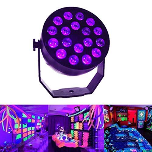 LED Mini UV18 Purple Light Par Light Effect Light Stage Rendering Wall Washer DMX512 Wedding Festival Bar Party Decoration Light