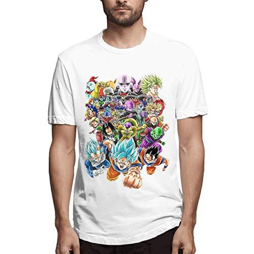 Tournament of Power Fighters Dragon Ball Z Heroes Super Mordenfashionable Man T-Shirt XXL - Ball Z Dragon Sleep Wear