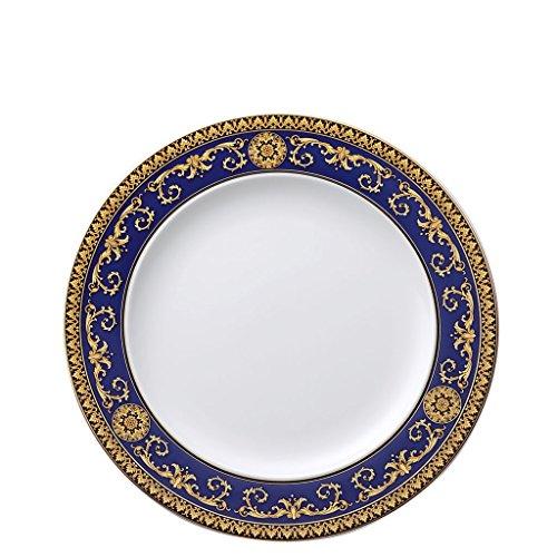 Versace by Rosenthal Medusa Blue Dinner Plate