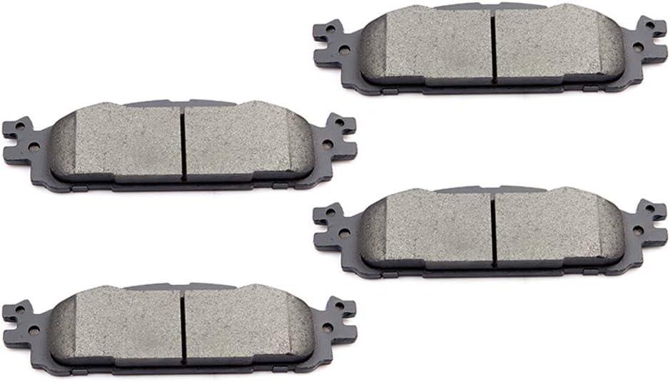Front /& Rear Ceramic Brake Pads for Ford Explorer Flex Taurus Lincoln MKS MKT