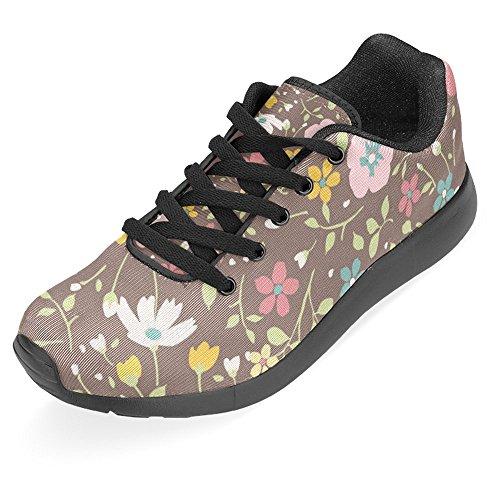 Interestprint Femmes Jogging Running Espadrille Aller Facile À Pied Casual Confort Sport Chaussures De Course Pour Les Femmes Multi 15