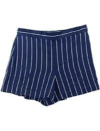 Womens Silk Striped Dress Shorts Navy � 17 � Product Details � Polo Ralph  Lauren