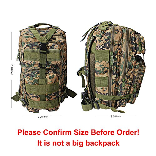 Review Oubakeji Military Tactical Backpack