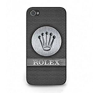 Classic Retro Logo Design Hard Plastic Case,The Rolex Cover Case For IPhone4/4S