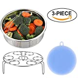 AISFA vegetable Steamer Basket Rack for Instant Pot Accessories...