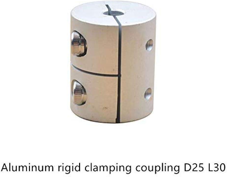 Improve 6.35//8//10 12mm coupleur darbre Flexible en Aluminium de Serrage connecteur de Moteur daccouplement Rigide D25 L30 1 pc D25L30 5//6 Taille: 8mm /à 12mm
