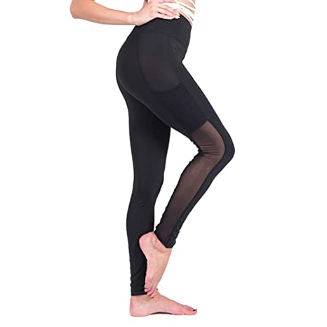Scrox 1x Pantalones Mujer Leggins Deportivas Running Mallas Mujer para Running Pilates Exterior Yoga Gym Step