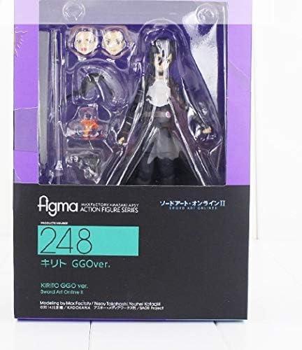 SAO Sword Art Online II Kirito GGO Action Figure 248 Figma Collectble Toy in Box