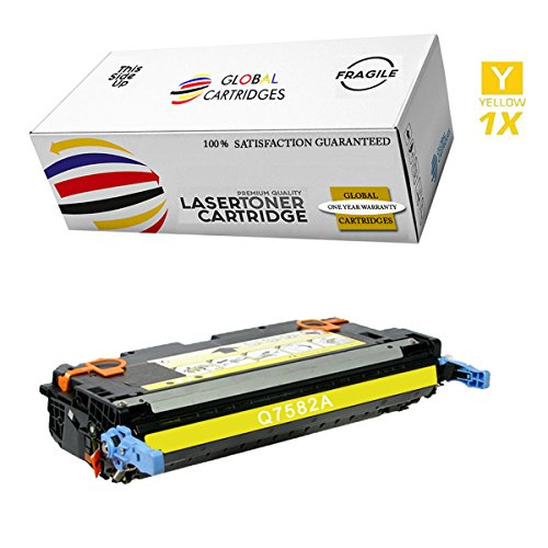 (GLB Premium Quality Remanufactured Replacement for HP 503A / HP 3800 Yellow Q6472A Toner Cartridge )