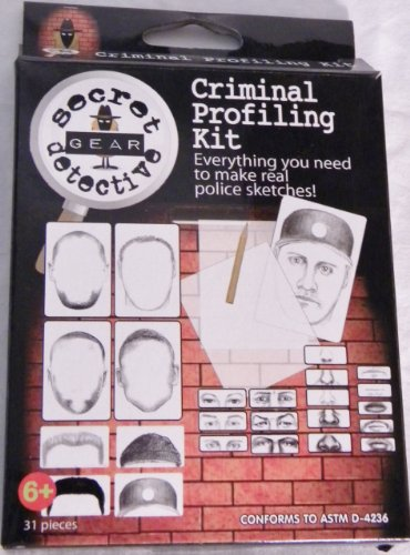 Criminal Profiling Kit (Secret Detective)