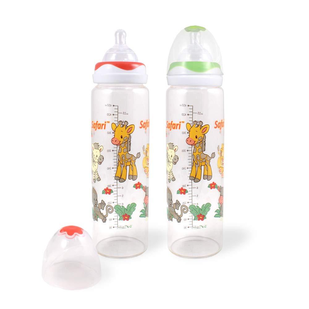 Amazon.com: Rearz Safari – Botella de cristal para bebé para ...