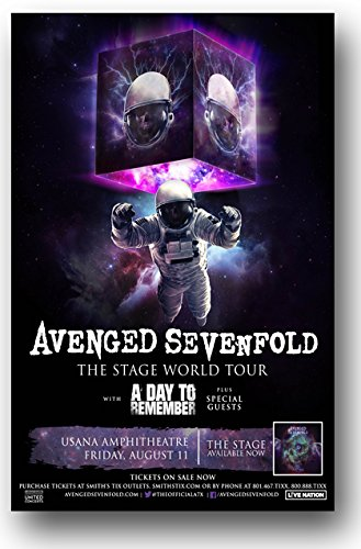 Amazon Avenged Sevenfold Poster