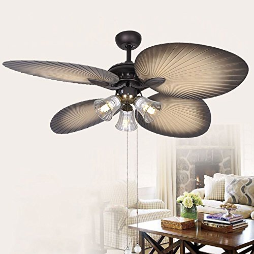 52 yellow ceiling fan - 3