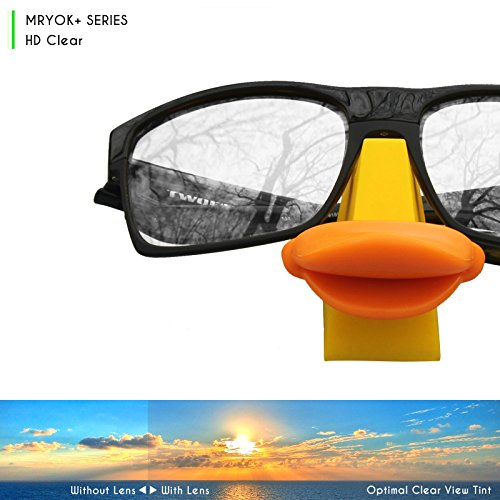 093286be353 Amazon.com  Mryok+ Polarized Replacement Lenses for Oakley EVZero Path - HD  Clear  Clothing