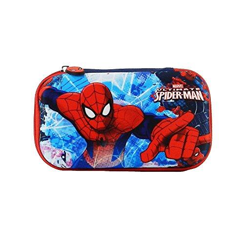 Estuche Lapicera Escolar Marvel Ruz Spiderman Hombre Araña 119957 Un Cierre