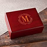 Wedding Favors Personalized Cherry Wood Humidor