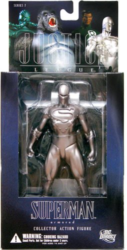 Alex Ross Justice League 7: Superman in Armor Action Figure