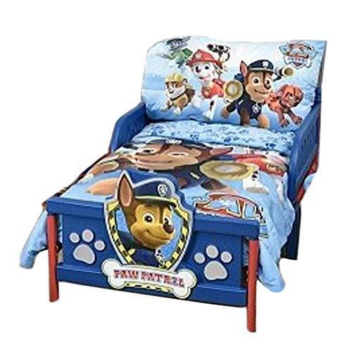 """PAW Patrol Toddler Bedding 3-Piece Comforter Sheet Set 52"""" x"""