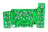 RKX MMI Radio buttons control module circuit board E380 for Audi Q7 A6