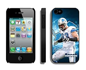 NFL Detroit Lions iPhone 4 4S Case 052 iPhone 4s Cases by kobestar