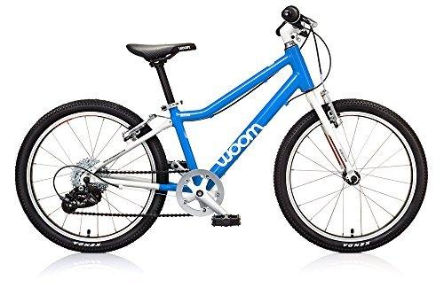WOOM BIKES USA Kids 4 Bike Blue 20/One Size [並行輸入品] B077S6NB57