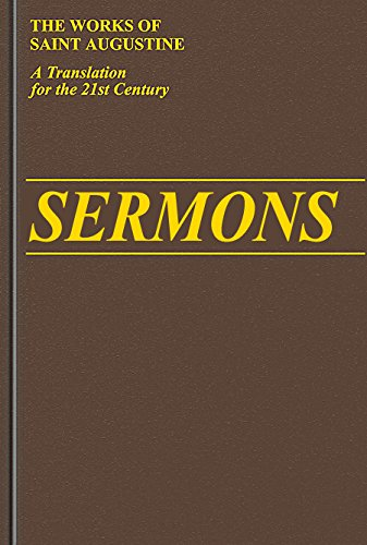 Sermons 151-183 (Vol. III/5) (The Works of Saint Augustine: A Translation for the 21st Century)