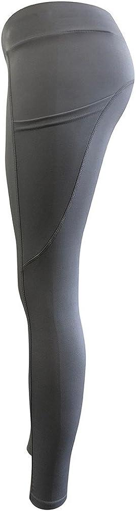 Pantalones Yoga Mujeres,Yusealia S/ólid Leggins Fitness Pantalones Elasticidad de Moda Empalmada Cintura Mid De Flaco Correr Elasticidad Pantalones