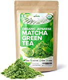 Organic Japanese Matcha Green Tea Powder - USDA & JAS Organic - Authentic Japanese Origin - Premium Culinary Grade - [100g Value Size]