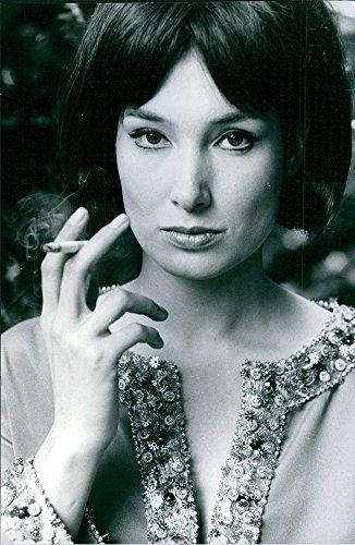 Aged photo of Portrait of Annabella Incontrera, 1968.